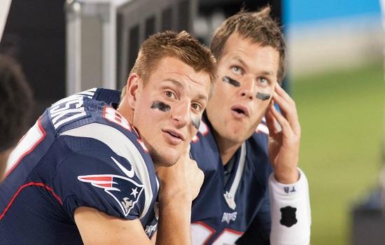 Rob Gronkowski Tom Brady