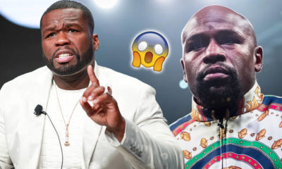 50-cent-spilled at floyd mayweather