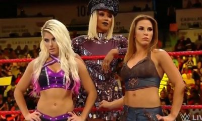 Alexa Bliss, Mickie James and Alicia Fox