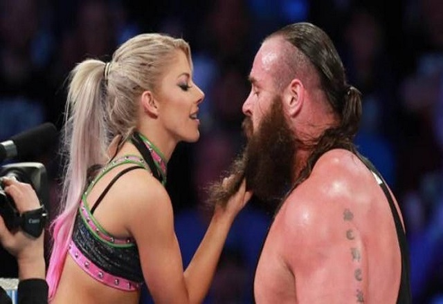 Alexa Bliss and Braun Strowman dating