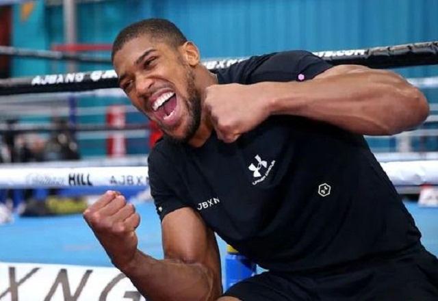 Anthony Joshua Aj worried about saudi arabia rematch ajss