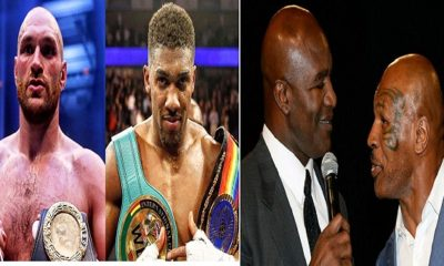 Anthony Joshua, Mentioned Mike Tyson, Mohamed Ali, Evander Holyfield