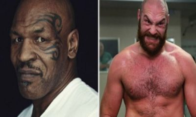 Mike tyson and tyson Fury meets