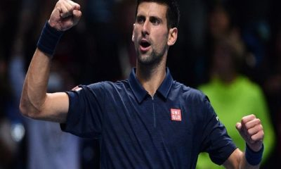 Novak Djokovic clashes with US Open fan in angry exchange