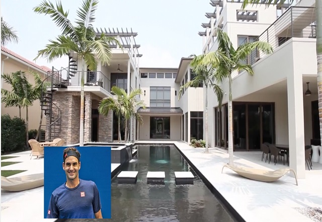 Roger Federer Massion building a £6.5million glass home called The Residence is in Wollerau