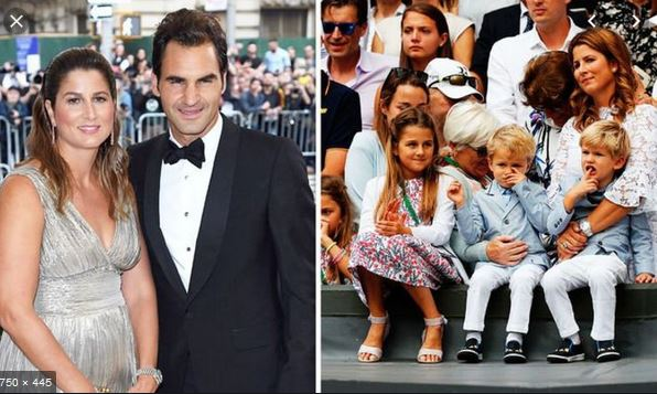 Roger Federer The Man With Worth Of $120 Million with his family