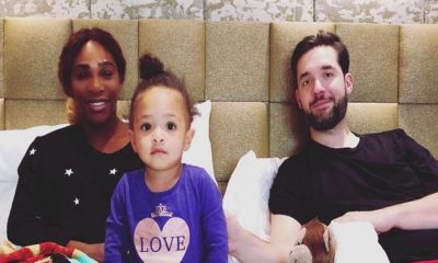 Serena Williams and Alexis Ohanian Daughter Alexis Olympia