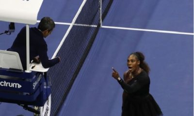Serena Williams and Carlos Ramos clash
