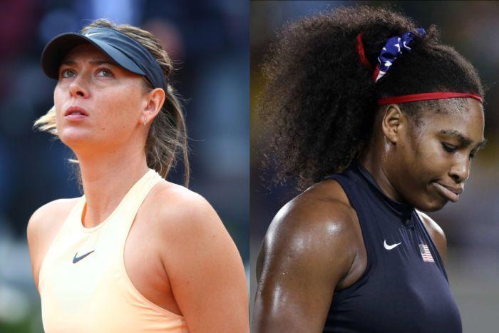 Serena Williams and Maria Sharapova bitter rivalry
