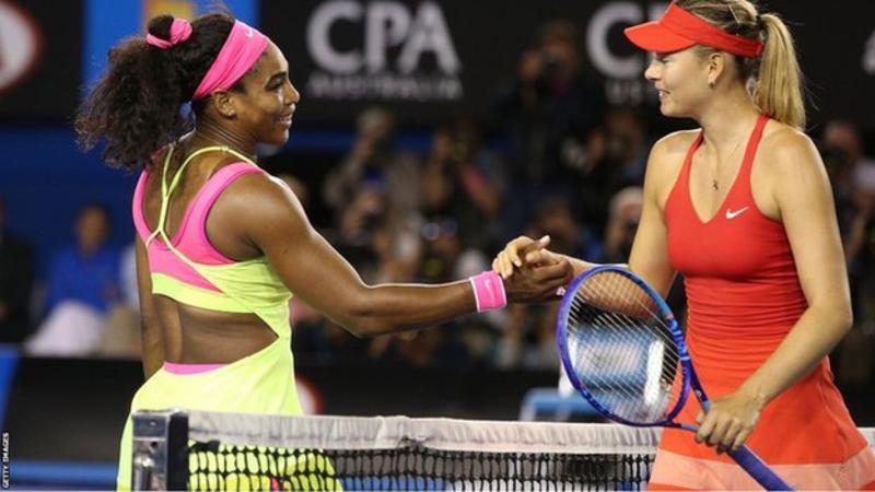 Serena Williams will play Maria Sharapova