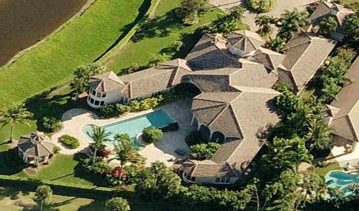 Venus and Serena Williams house West Palm Beach, Florida pictures