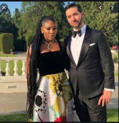 Serena Williams and her husband Alexis Ohanian