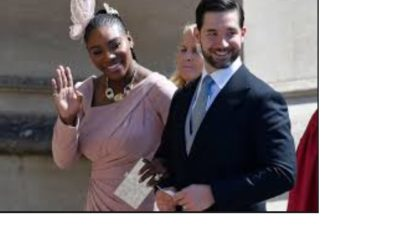 Serena Williams and Alexis ...ended up wandering Paris together