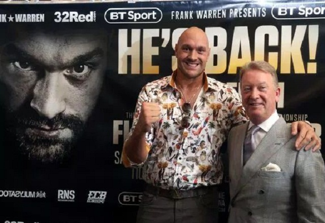 Tyson Fury's Freakish Lifestyle and cook
