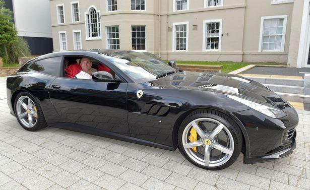 Tyson Fury New Ferrari