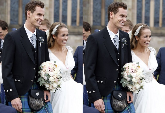 Andy Murray and Kim Sears grand style wedding