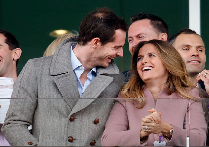 Andy Murray shares two daughters with wife Kim Sears