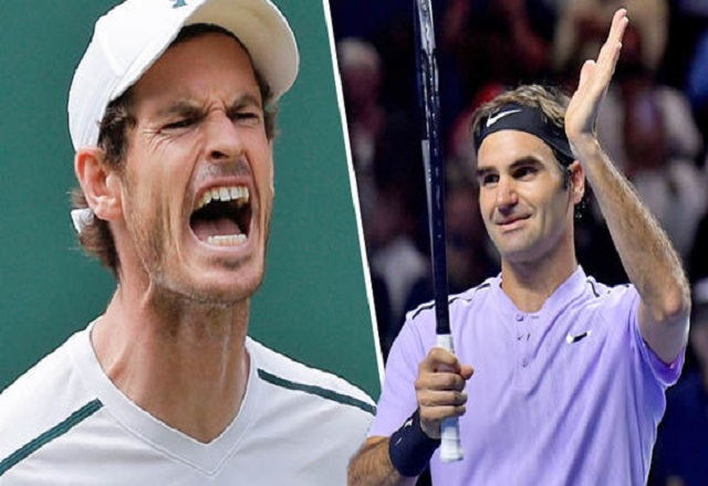 Andy Murray vs Roger Federer at ATP Cup
