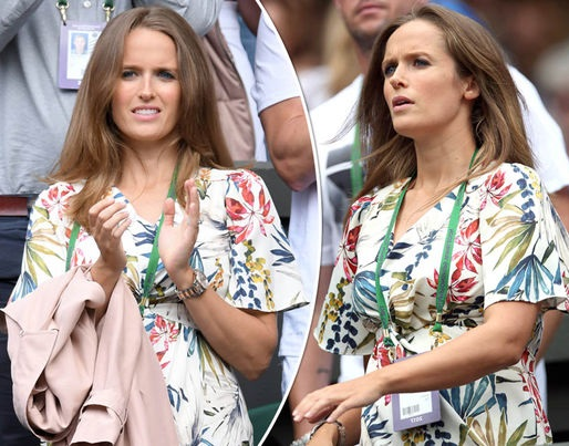 Andy Murray wife Kim Sears pregnancy pictures