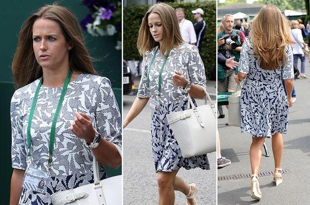 Andy Murray wife Kim Sears wears pregnancy top