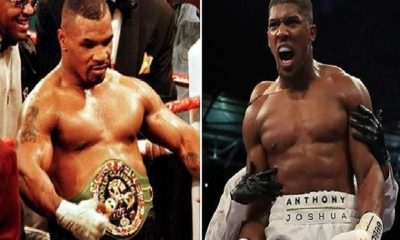 Anthony Joshua Names Mike Tyson GOAT And all time best
