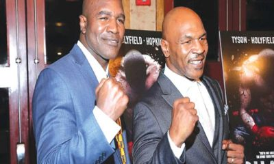 Mike tyson and evander Holyfield Show LOve