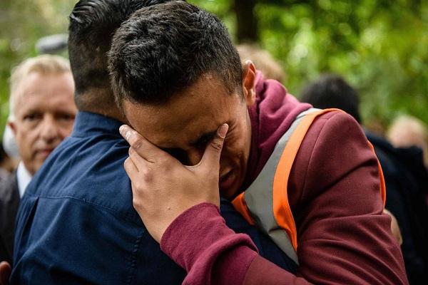 New Zealand crying
