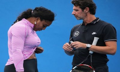 """Coach Patrick Mouratoglou """"Age Not An Obstacle In Serena Williams' Pursuit Of 24th Grand Slam"""