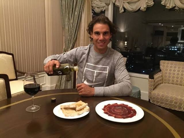 "Rafael Nadal: ""I Never Eat Cheese in All My Life"""