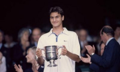 On this day: Roger Federer, 16, enters the ATP rankings for the first time