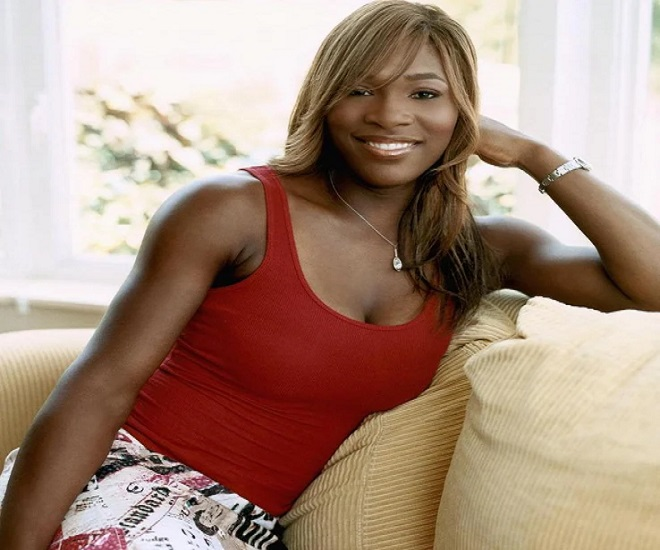 Serena on red