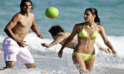 EXCLUSIVE RAFAEL NADAL RELATIONSHIP -- Twelve Years in A Relationship With Girl Friend Xisca No Kids Yet I Enjoy Tennis More Than... SEE REASON...