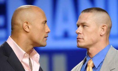 John Cena and The Rock