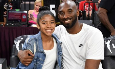 Kobe Bryant and daugther