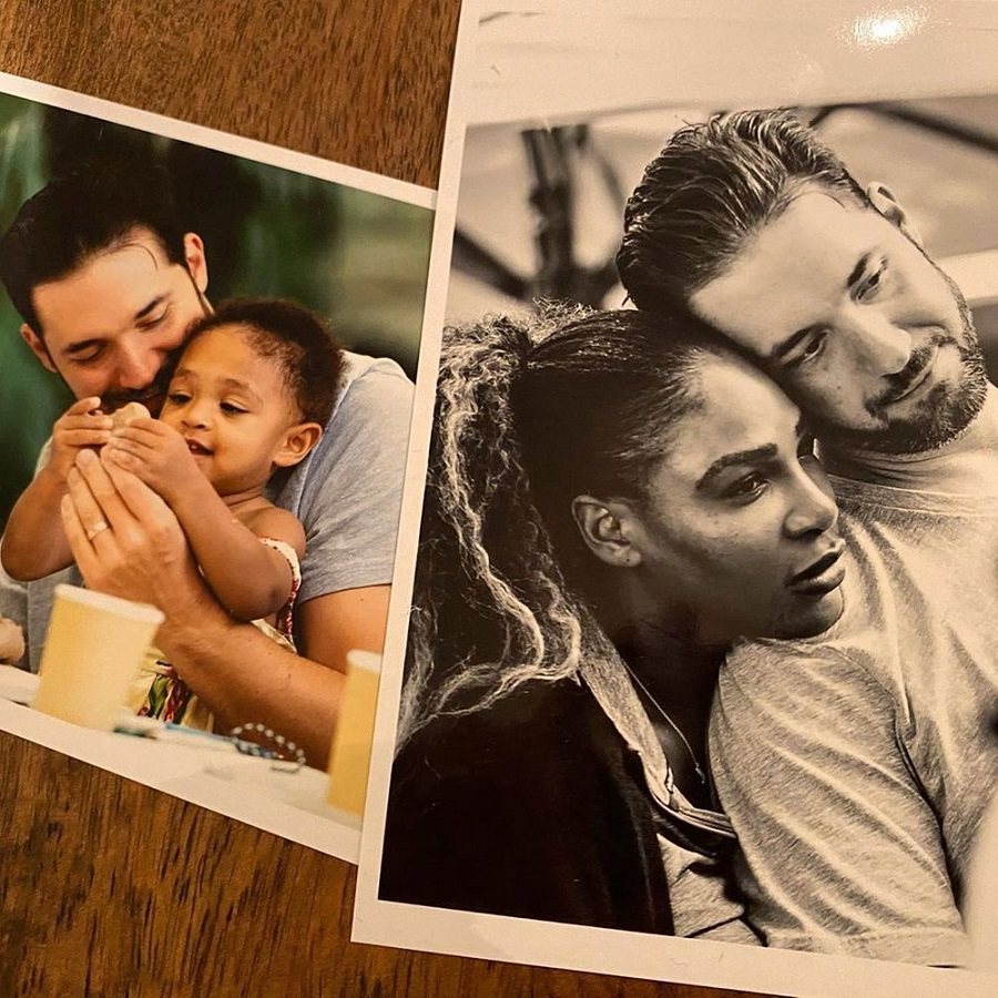Alexis Ohanian, daugther and wife