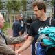 Andy Murray and Rod Laver