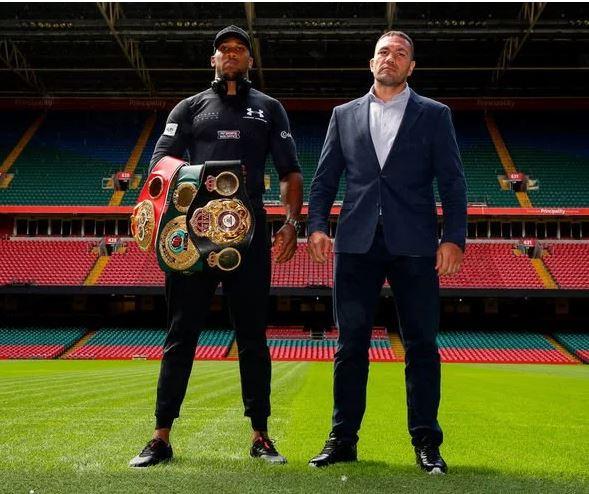 Anthony Joshua & Tyson Fury