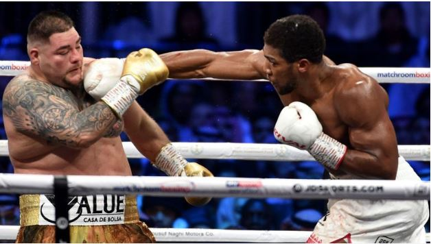 Anthony Joshua defeat Andy Ruiz