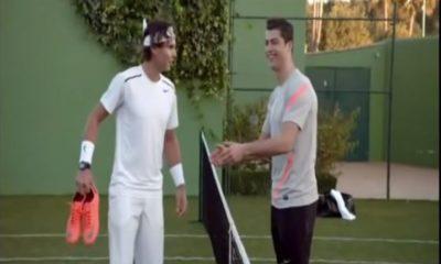 Christiano Ronaldo and Rafael Nadal