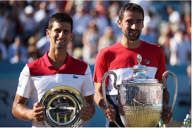Cilics and Novak Djokovic