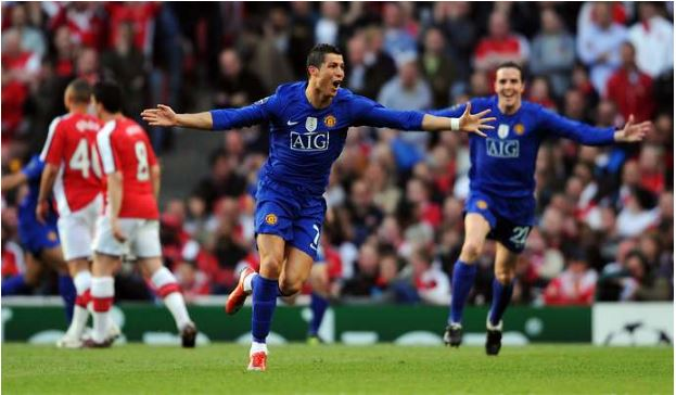 Cristiano Ronaldo man u