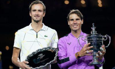 Daniil Medvedev and Rafael Nadal