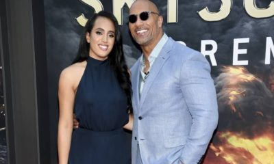 Dwayne Johnson and Daugther
