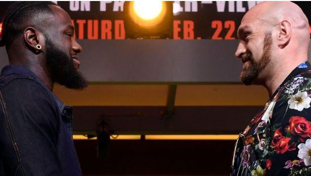 Fury and wilder rematch