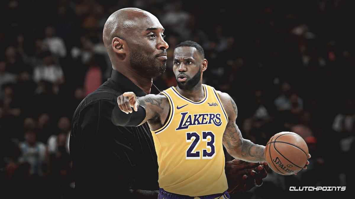 Kobe bryant and Lesbron James