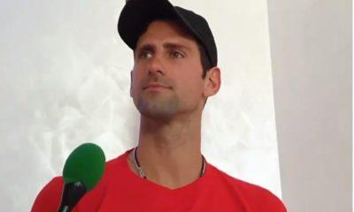 Novak Djokovic looked