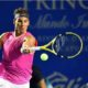 Rafael Nadal plays