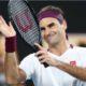 Roger Federer clap