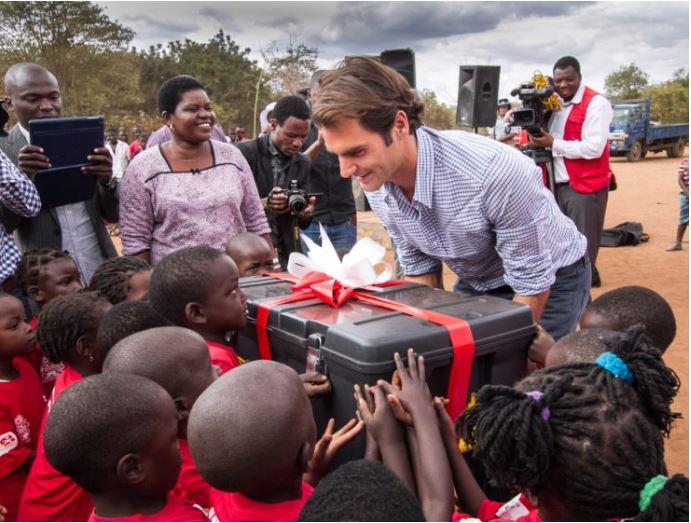 Roger Federer gift