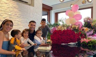Ronaldo and family